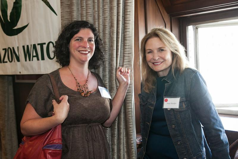Stephanie Alson and Anna Hawken. September 25, 2013; San Francisco, CA, USA; Photo by Eric Slomanson / slomophotos.com