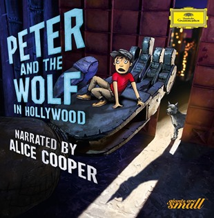 CD REVIEW: Sergei Prokofiev - PETER AND THE WOLF IN HOLLYWOOD (Deutsche Grammophon B0024038-02)