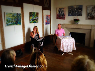 French Village Diaries Charroux Literary Festival 2015 Barry Walsh