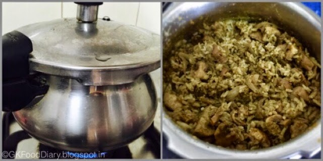 Mushroom Biryani South Indian Style ( Kalan Biryani) | How to make Mushroom Biryani 8