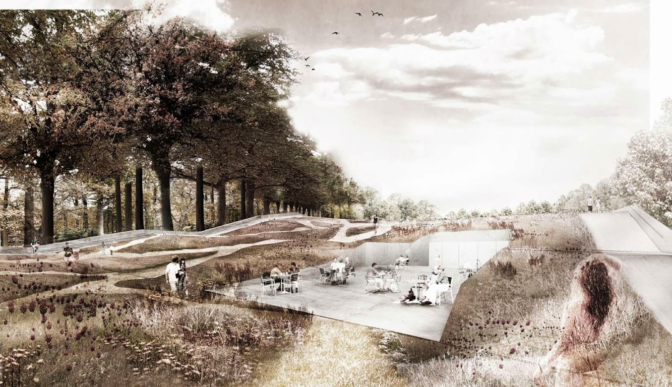 Varsavia, Polonia: Mecanoo Wins the New Garden of the 21St Century Competition