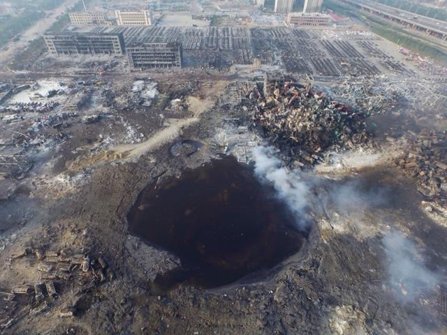 LA GRAN EXPLOSION DE TIANJIN EN CHINA, UN NUEVO ATAQUE DE BANDERA FALSA