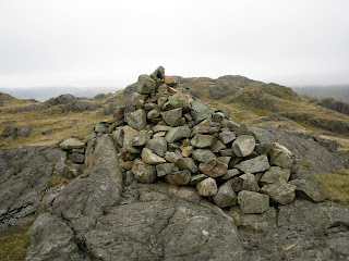 Cairn near Border End