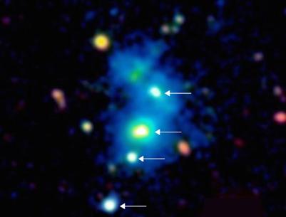 quasar quádruplo