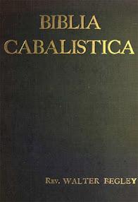 Cover of Walter Begley's Book Biblia Cabalistica