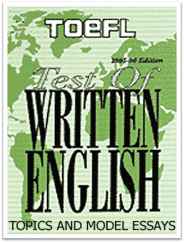 written toefl essays
