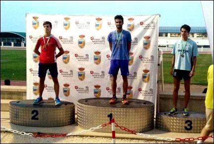 Jose Antonio Roldan Subcampeón de Andalucia Sub-23