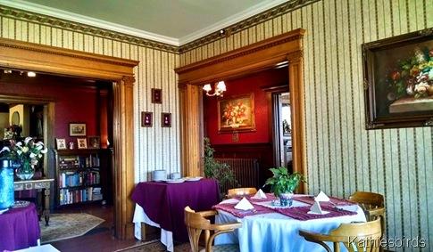 17. dining room atGreenville Inn 5-3a