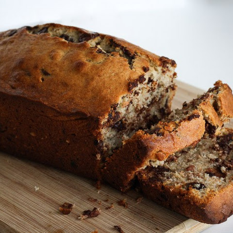 Decadent Chocolate Chip Banana Bread