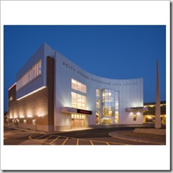 SOPAC-South Orange Performing Arts Center, Location: South Orange, NJ, Architect: RKT&B Architects. This is the description of this image.