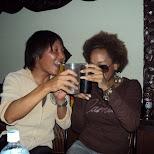 drinking games at 9LoveJ in Roppongi, Tokyo, Japan