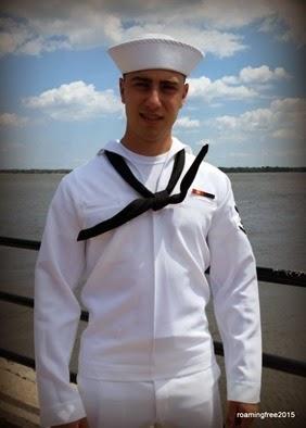 Sailor at Charleston Harbor