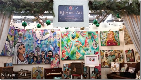 art booth