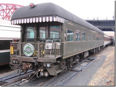 IMG_9876 New York Central Business Car #3 Portland at Union Station in Portland, Oregon on October 22, 2009