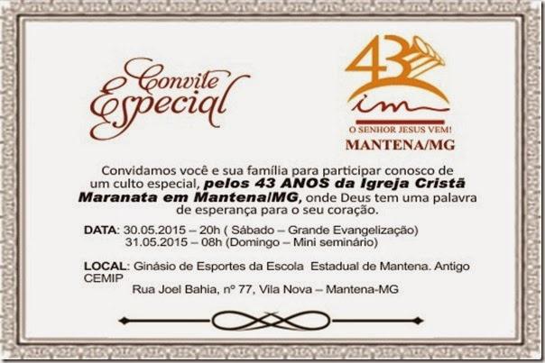 Convite-Maranata