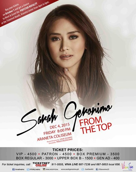 Sarah Geronimo - From The Top