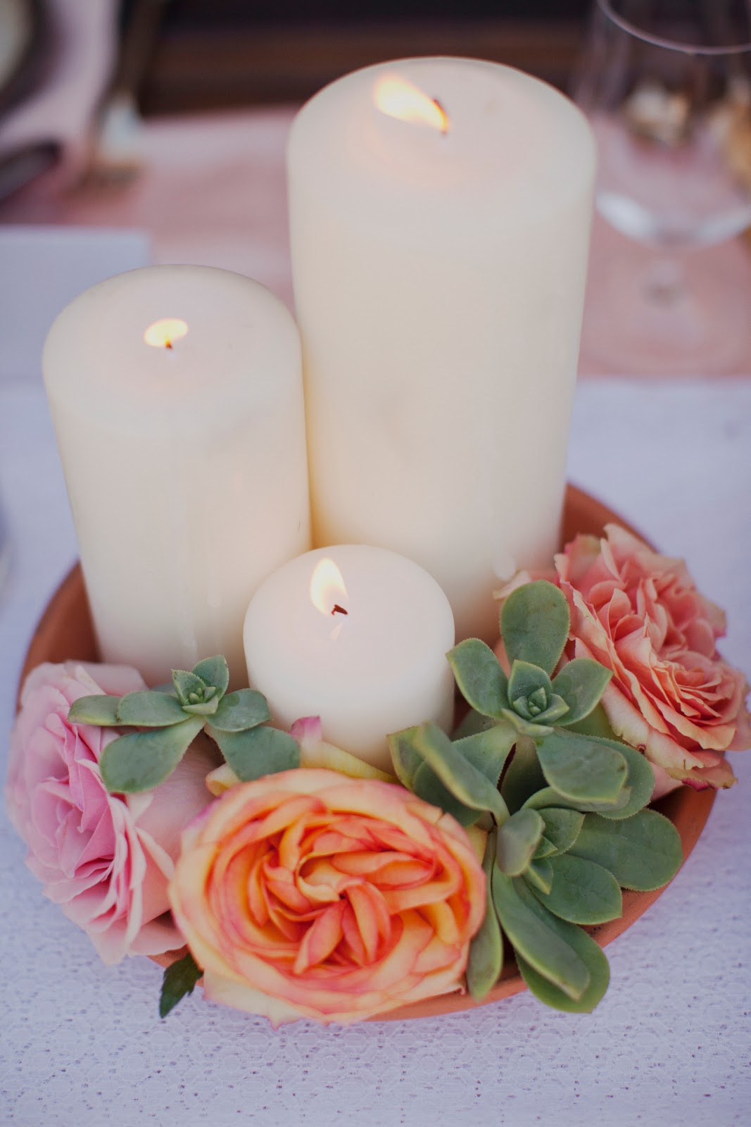 white flower wedding centerpieces