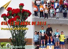 25.ABR.15 - PROVAS  DE ATLETISMO