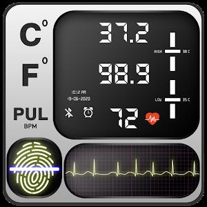 Body Temperature Thermometer : Fever Checker Diary Online PC (Windows / MAC)