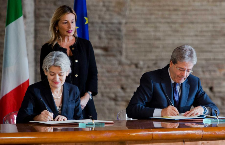 Italy launches task force for heritage protection