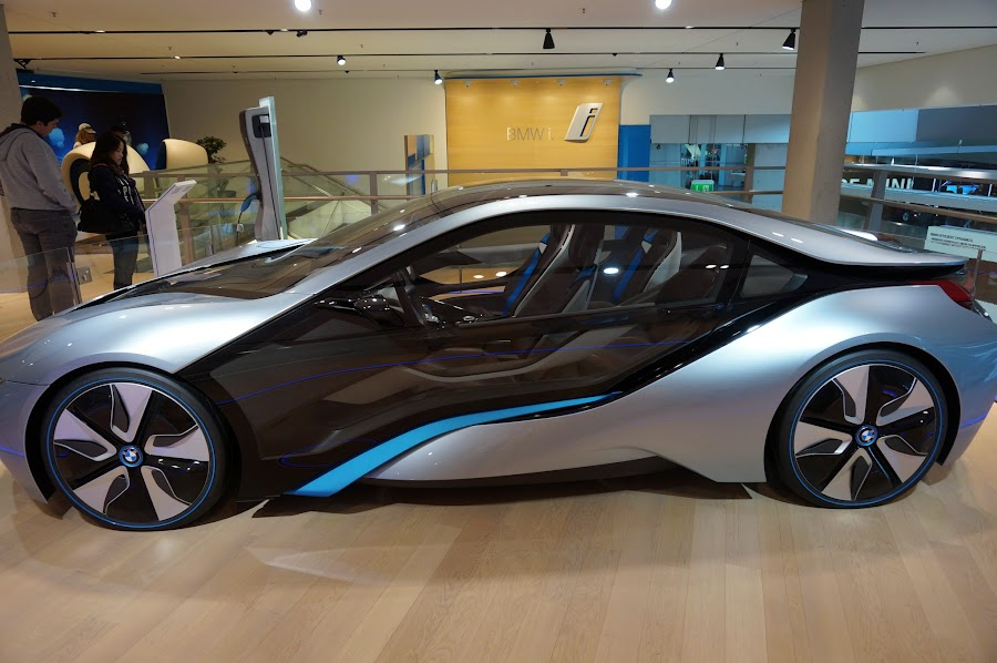 Концепт-кар BMW i8