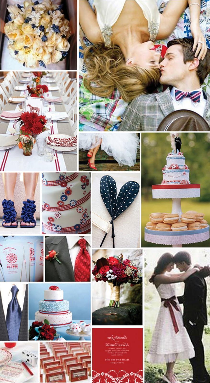 Wedding Inspiration-Red, White