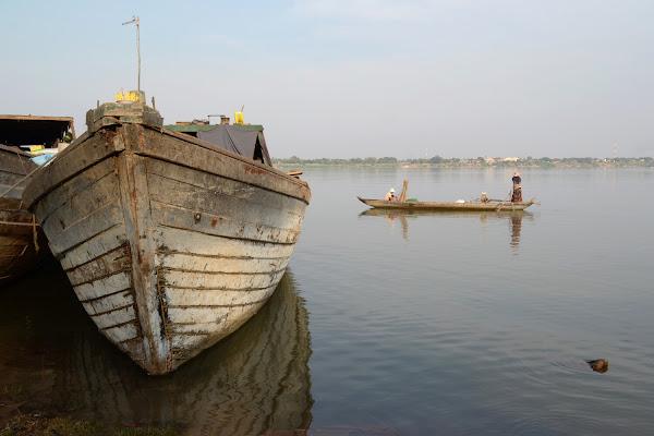 меконг река лодки камбоджа