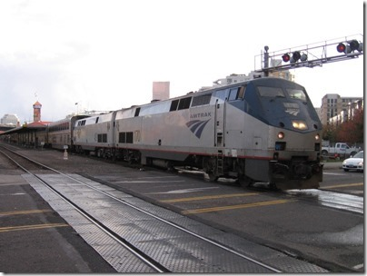 IMG_0134 Amtrak P42DC #170 at Union Station in Portland, Oregon on October 23, 2009