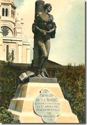 Statuaire en bronze d'Armand Bloch (détruit en 1941).