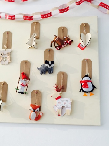 create your own felt decorations