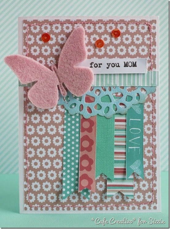 abbellimenti scrap-feltro-stoffa-card femminile-mamma-sizzix big shot-by cafecreativo