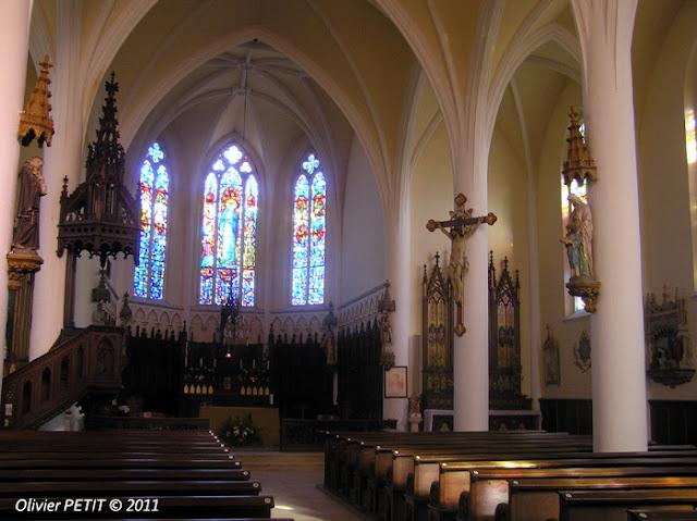 THUILLEY-AUX-GROSEILLES (54) - L'église paroissiale Saint-Martin