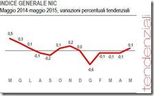 Indice generale NIC. Maggio 2015