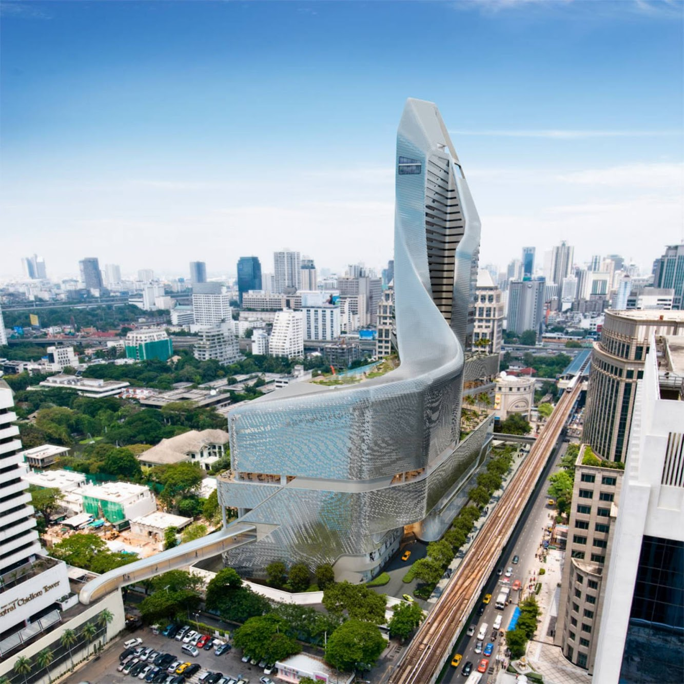Bangkok, Thailandia: Central Embassy by Al_A Nears Completion