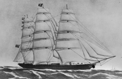 Clipper ship Maitland