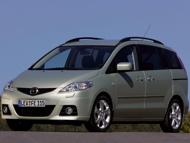 2008 mazda mazda5 minivan specifications pictures prices. Black Bedroom Furniture Sets. Home Design Ideas