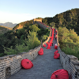 muraille de chine by Nathalie Coget - Buildings & Architecture Public & Historical