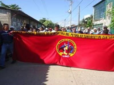 Comunidades y trabajadores, unidos en mitin en Cantagallo