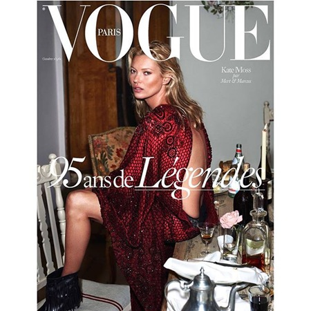 Kate Moss for Vogue Paris October 2015