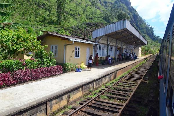 Горная железная дорога, Шри Ланка