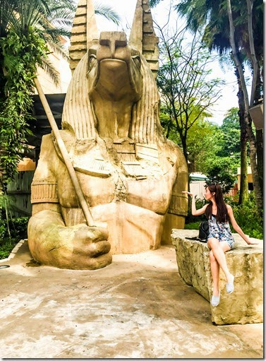 Universal Studios Singapore (USS) Resorts World Sentosa - Ancient Egypt revenge of the mummy