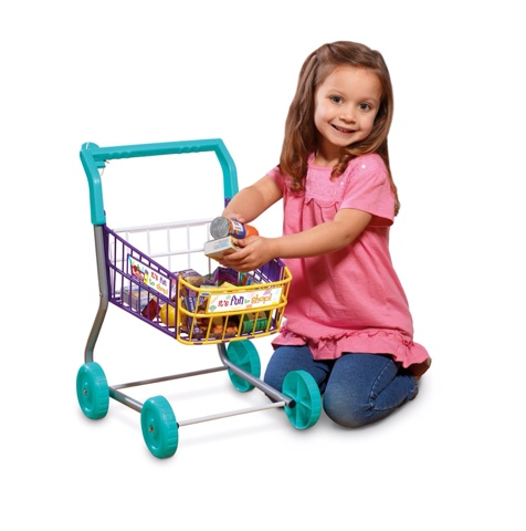 Casdon Little Shopper Toy Shopping Trolley