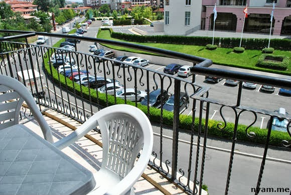 вид с балкона - посейдон