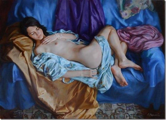 the silk - Anna-Marinova - ENKAUSTIKOS