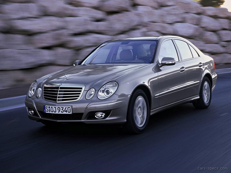2009 mercedes benz e class sedan specifications pictures
