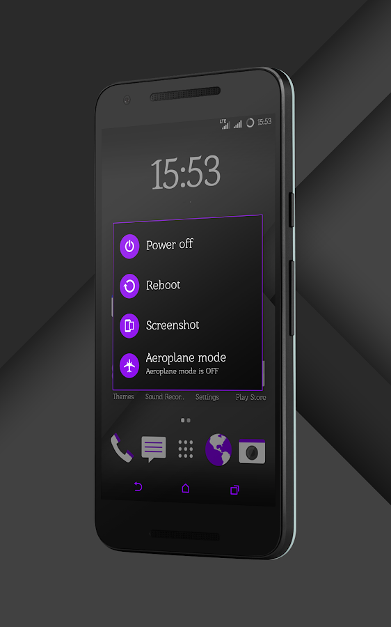 Sense Black/Purple cm13 theme Screenshot 14