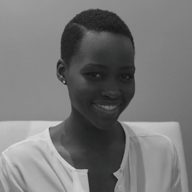 Lupita Nyong'o Finally In Kenya!
