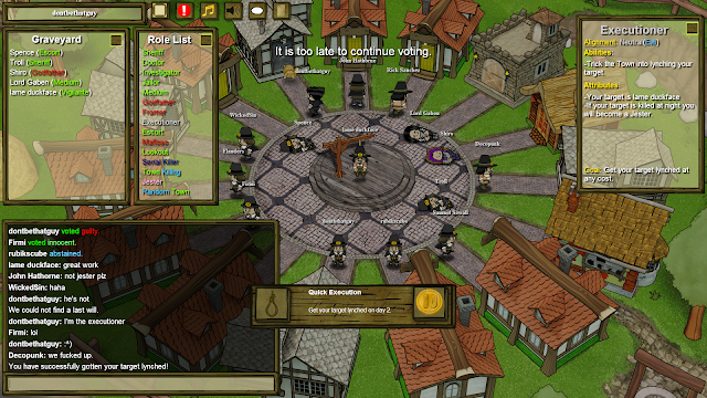 Town of Salem - Executioner - Quick Execution