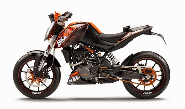 KTM 125 DUKE 2015 - Spesifikasi Lengkap dan Harga