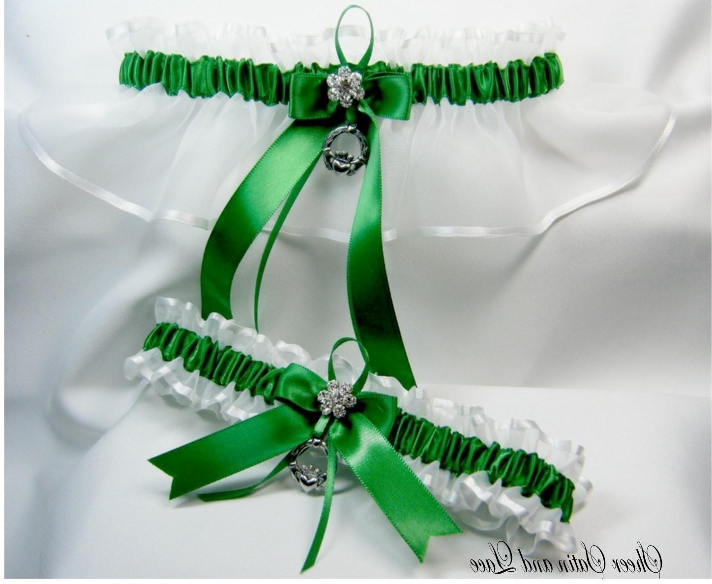 EMERALD IRISH Wedding garters